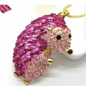 Betsey Johnson Hedgehog Necklace
